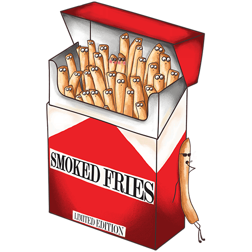 Smoked fries