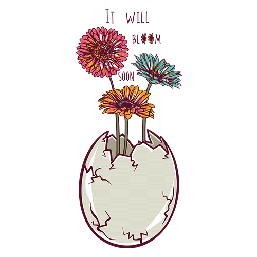 Blooming egg