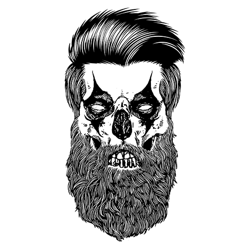 Щампа - Beard clown