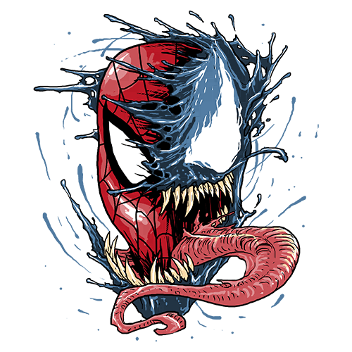 Щампа - Venom vs Spiderman