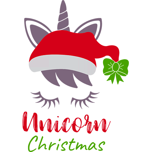 Щампа - Unicorn christmas