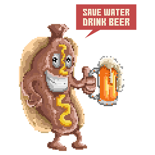 Щампа - Save Water Drink Beer
