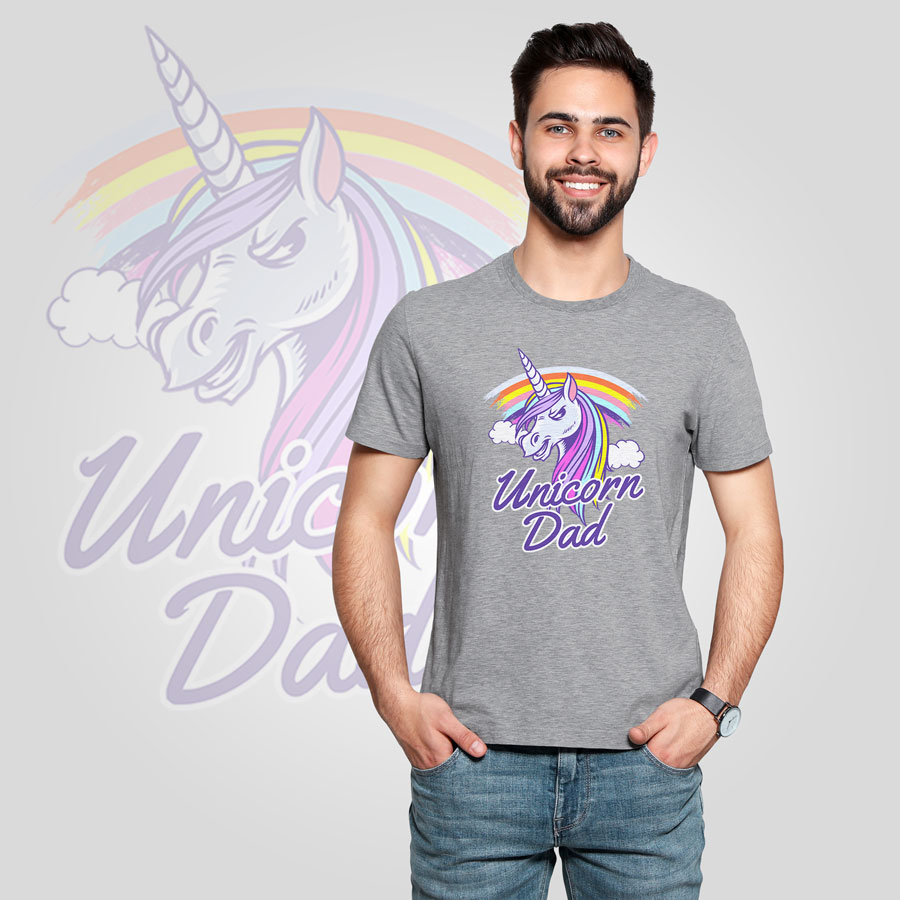 Щампа - Unicorn dad