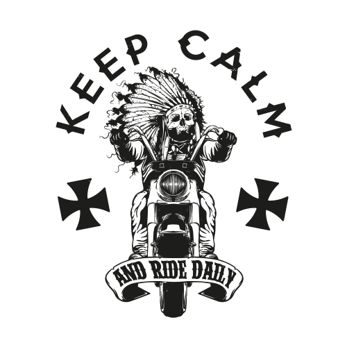 Keep Calm and Ride Daily