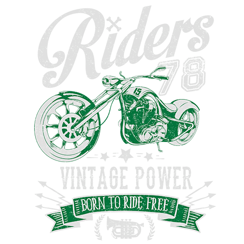 Щампа - Riders vintage power