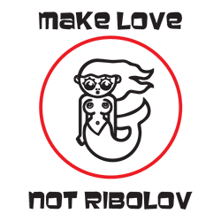Щампа - Make love Not ribolov / b0031
