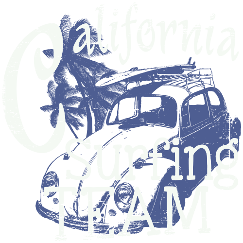 Щампа - California surfing team