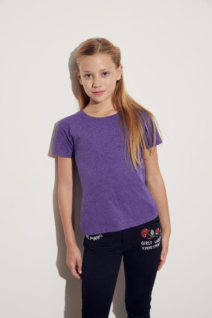 Детска тениска Iconic момиче
